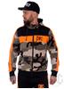 eXc Tracksuite Hoodie Camo n Orange