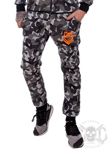 eXc Grey N Black SweatPants