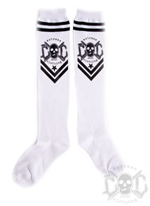 eXc New Logo Socks, White