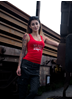 Rebel For Life We Don´t Name Drop Tank, Red