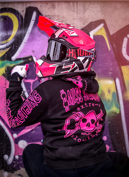 eXc Kevlar hoodie Girls Slim fit, YourName