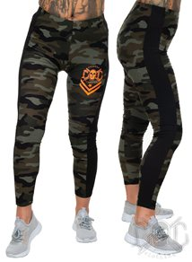 eXc Green Camo leggings