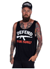 Rebel For Life Defend Your Family Men Tank