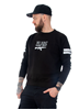 Rebel For Life We Don´t Name Drop Unisex Sweatshirt, Svart