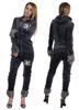 eXc Skull Dress with fur, Grey