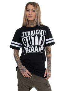 eXc S O B Stripe Jersey Unisex Tee, Black