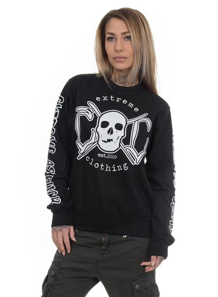 eXc E A F Unisex Sweatshirt, Black Smoke