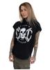 eXc Skull Logo Sleeveless Hoodie, Black
