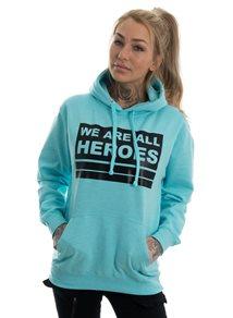 eXc We Are All Heroes Hoodie, Surf Ocean