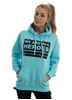 eXc We Are All Heroes Hoodie, Surf Ocean