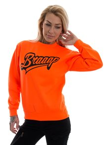 eXc Braaap Sweatshirt, Neon Orange