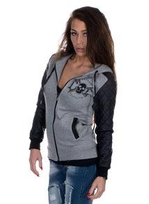 eXc Black/Grey hoodie, Women