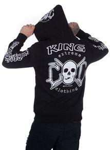 eXc King Hoodie, B/W