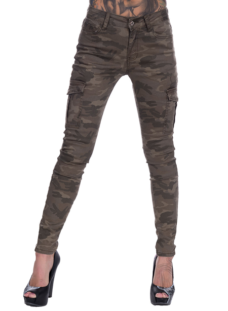 eXc Washed Camo Cargo pants