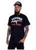 Rebel For Life Defend Your Family Men Tee, Black