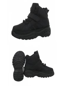 Mix From Italy High Sneakers, Black