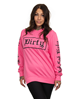 Dirty Dirty Unisex Sweatshirt, Bubblepink