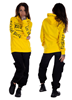 Dirty Dirty Girlie Hoodie, Yellow