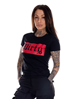Dirty Dirty Red Women Tee, Black