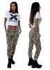 Mix From Italy PDJ Camo Cargo Pants