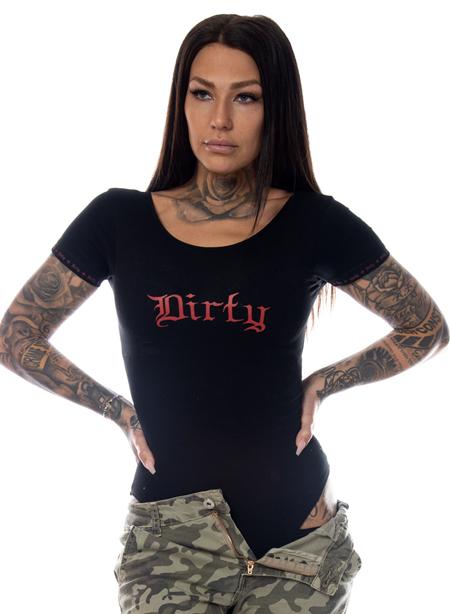 Dirty Body, Black N red