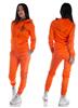 eXc Striped Track Suit, Orange