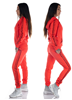 eXc Striped Track Suit, Red