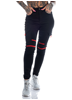 Mix From Italy Biker pants, Black