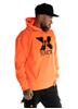 Dirty Dirty X-Rated Hoodie, Neon Orange
