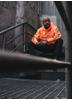 Dirty Unisex Hoodie, Neon Orange