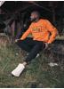 Dirty Unisex Sweatshirt, Orange