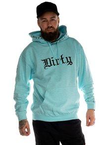 Dirty Amsterdam Herr Hoodie, Ocean Blue