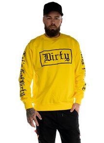 Dirty Herr Sweatshirt, Yellow