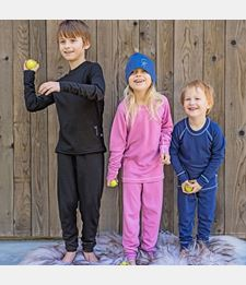 ISBJÖRN HUSKY Base Layer Longjohn Kids