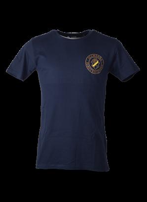 T-shirt marin rund märke