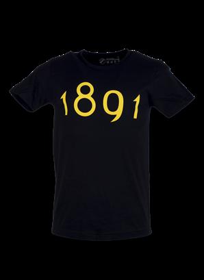T-shirt svart 1891 stor