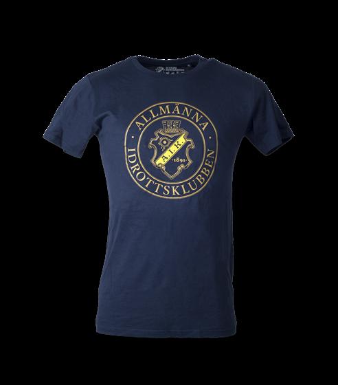 T-shirt marin allmänna rund stor
