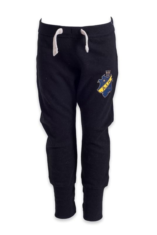 ab18f0c6 AIK Shop - Sweatpants svart sköld barn - Officiell souvenirbutik