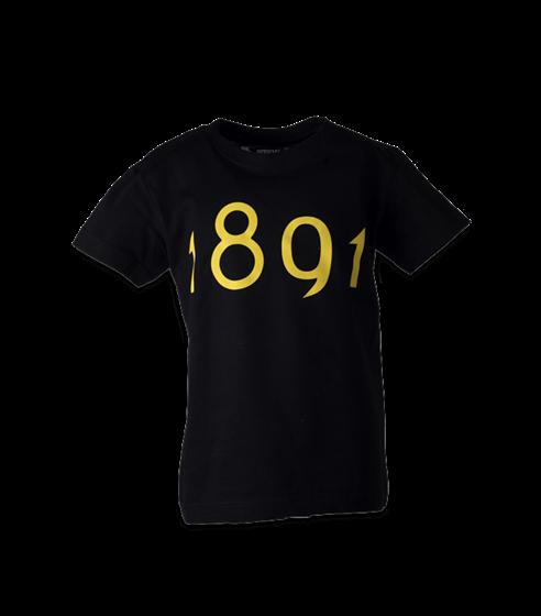 T-shirt svart 1891 barn