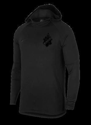 Nike acdmy svart hoodie barn