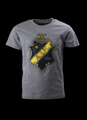 T-shirt grå sköld barn