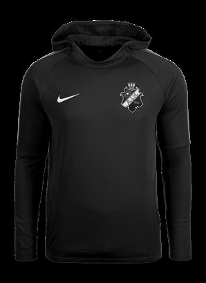 Nike acdmy svart/vit hoodie