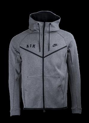 Nike ziphood grå AIK