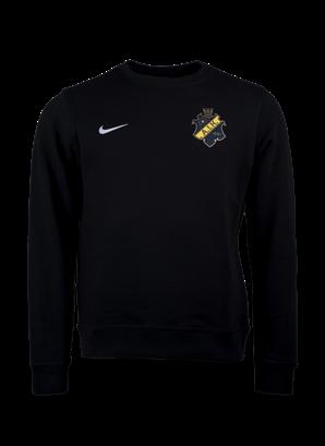 Nike sweatshirt svart färgad sköld