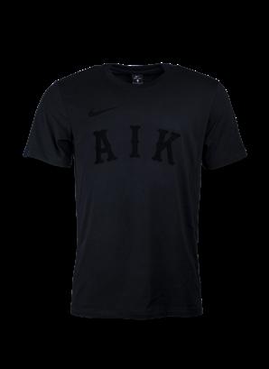Nike T-shirt Replika vintage svart