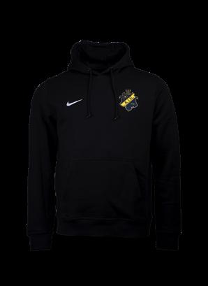 Nike hoody svart färgad sköld