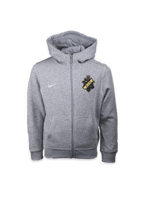 Nike ziphood grå  fz barn