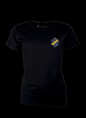 T-shirt liten sköld Dam