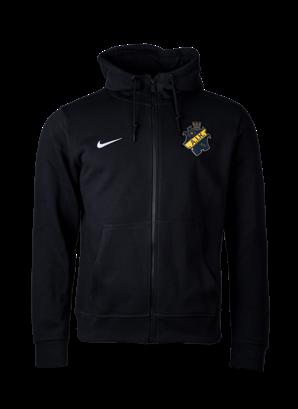 Nike ziphood svart  färgad sköld