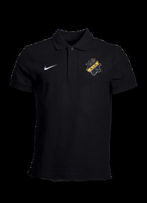 Nike svart pike färgad sköld